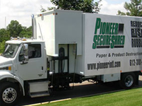 On-Site Shredding Minnesota Pioneer SecureShred Inc.